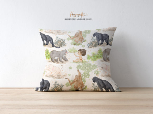 Jungle Patterns,woodland Patterns Graphic Patterns By Hippogifts - Image 8