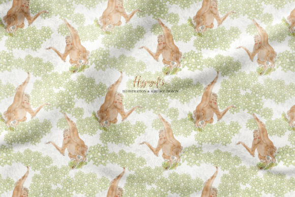 Jungle Patterns,woodland Patterns Graphic Patterns By Hippogifts - Image 9