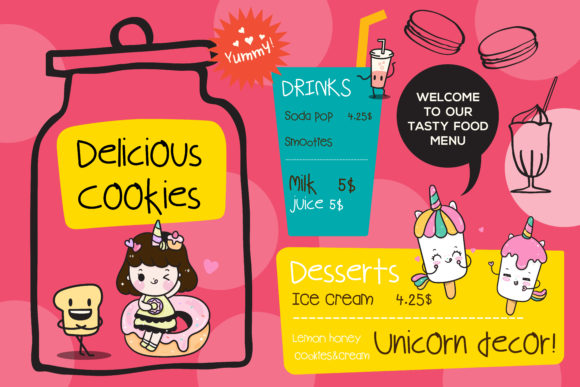 Download Free Kids Menu Font By Vividdiy8 Creative Fabrica SVG Cut Files