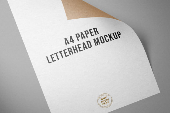 Letterhead Mockup Template Graphic Product Mockups By suedanstock