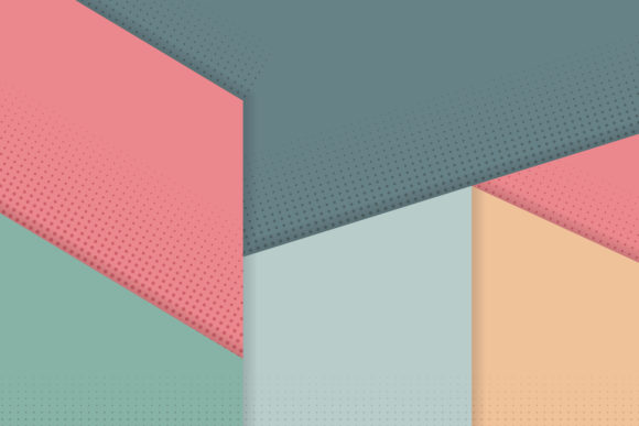 Download Free Pastel Geometric Background Halftone Graphic By Noory Shopper for Cricut Explore, Silhouette and other cutting machines.