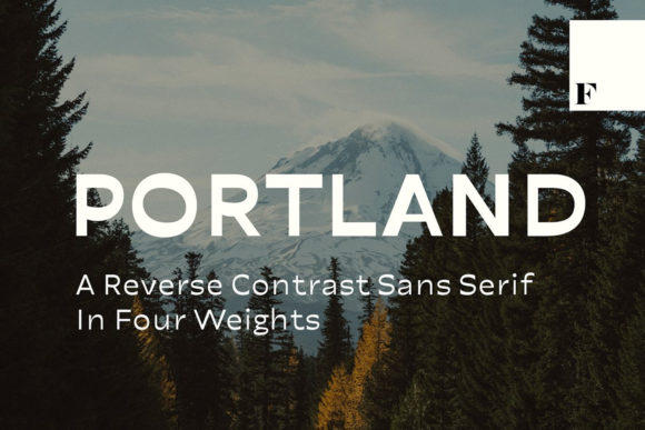 Print on Demand: Portland Sans Serif Schriftarten von fenotypefonts