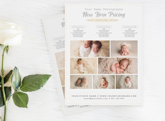Price Guide Photography Flyer Template Graphic Print Templates By ivanjoys19