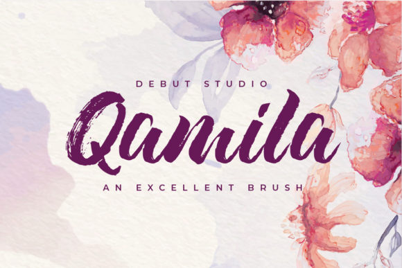Print on Demand: Qamila Script & Handwritten Font By Debut Studio