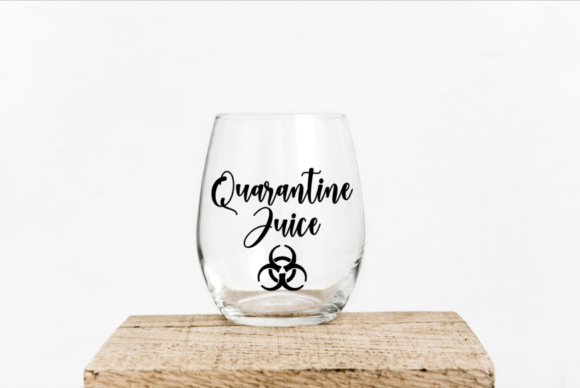 Quarantine Juice Graphic By Dannibe7 Creative Fabrica