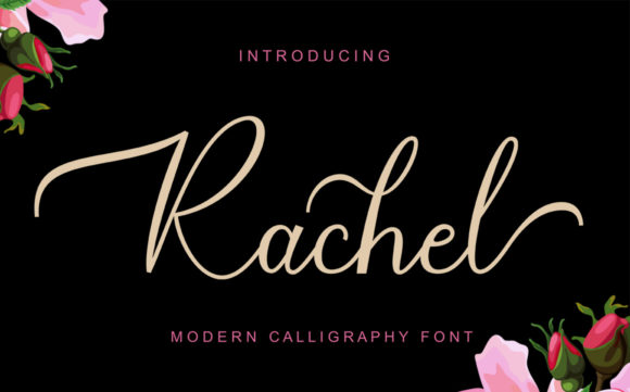 Print on Demand: Rachel Script & Handwritten Font By gatype