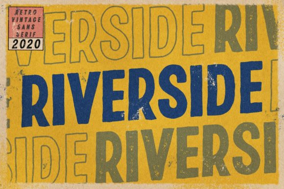 Print on Demand: Riverside Script & Handwritten Font By Ryn Pojas