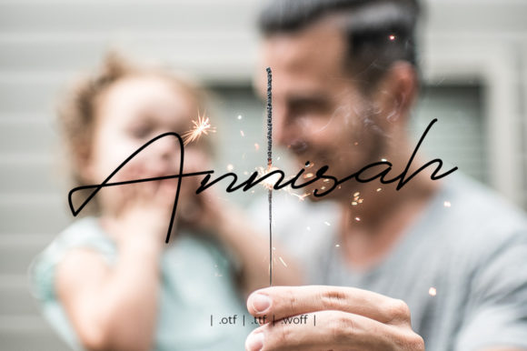 Download Free Saffanah Font By Yantodesign Creative Fabrica for Cricut Explore, Silhouette and other cutting machines.