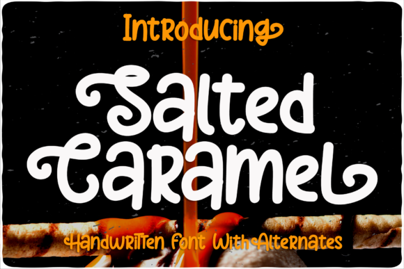 Print on Demand: Salted Caramel Display Font By LetterBeary - Image 1