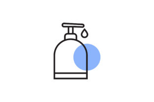 Download Free Shampoo Icon Graphic By Flatdesigntheory Creative Fabrica for Cricut Explore, Silhouette and other cutting machines.