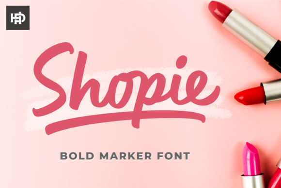 Print on Demand: Shopie Script & Handwritten Font By hptypework