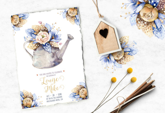 Spirit of Spring Watercolor Collection Graphic Illustrations By kristinakvilis - Image 9