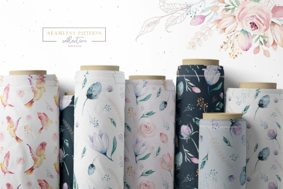 Spring & Love Watercolor Collection Graphic Illustrations By kristinakvilis - Image 11