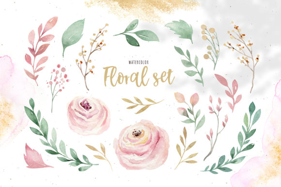 Spring & Love Watercolor Collection Graphic Illustrations By kristinakvilis - Image 2