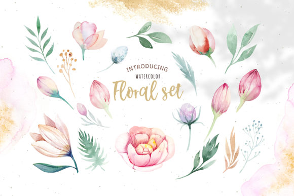 Spring & Love Watercolor Collection Graphic Illustrations By kristinakvilis - Image 3