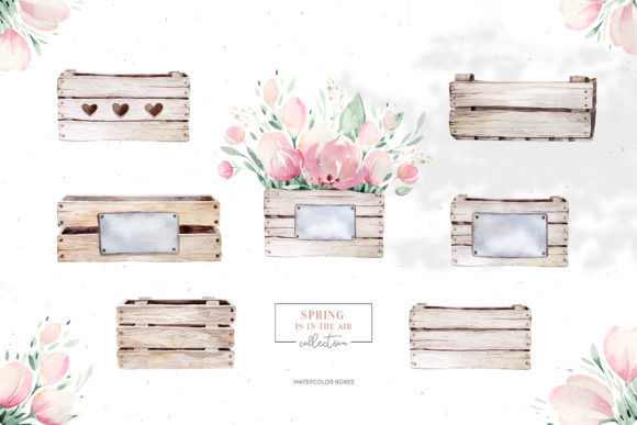 Spring is in the Air Collection Graphic Illustrations By kristinakvilis - Image 3