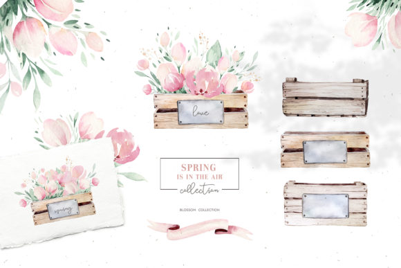 Spring is in the Air Collection Graphic Illustrations By kristinakvilis - Image 8