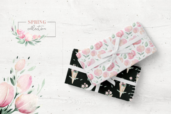 Spring is in the Air Collection Graphic Illustrations By kristinakvilis - Image 9