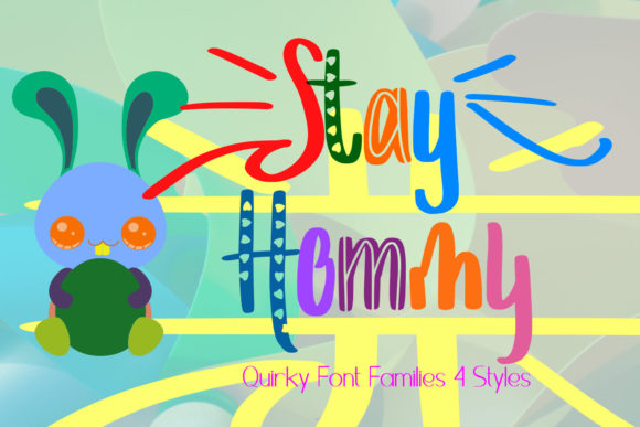 Print on Demand: Stay Hommy Decorative Font By setiyadissi