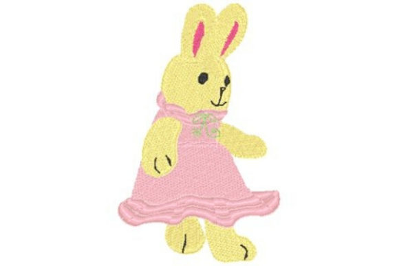 Tea Bunnie Tea & Coffee Embroidery Design By Sue O'Very Designs