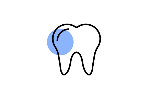 Download Free Teeth Icon Graphic By Flatdesigntheory Creative Fabrica for Cricut Explore, Silhouette and other cutting machines.