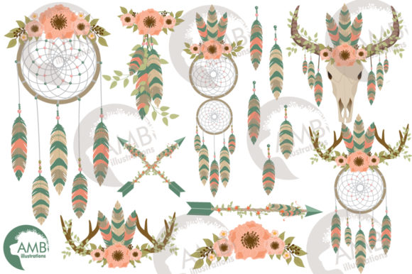 Download Free Tribal Dreamcatcher Clipart Graphic By Ambillustrations SVG Cut Files