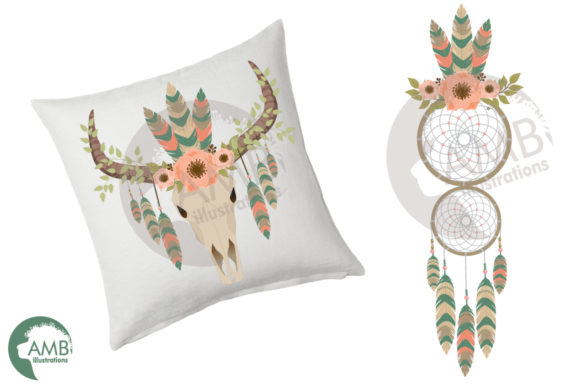 Download Free Tribal Dreamcatcher Clipart Graphic By Ambillustrations for Cricut Explore, Silhouette and other cutting machines.