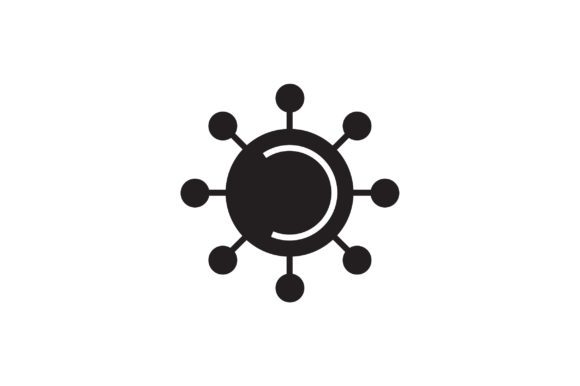 Download Free Virus Icon Graphic By Flatdesigntheory Creative Fabrica for Cricut Explore, Silhouette and other cutting machines.