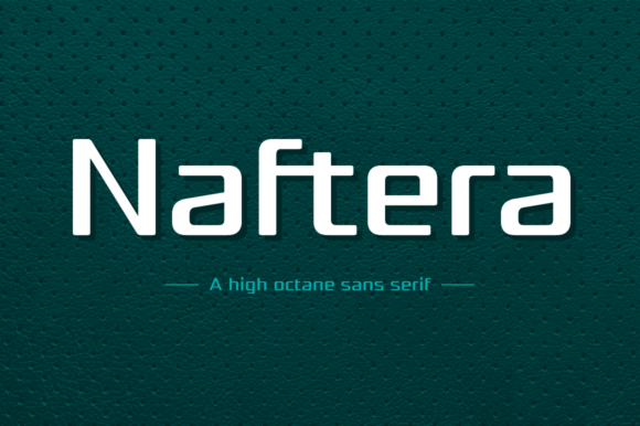 Print on Demand: Naftera Family Sans Serif Font By Graviton Font Foundry