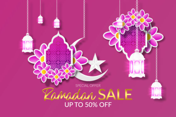 Ramadan Sale Islamic Special Offer Graphic Print Templates By ngabeivector