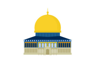 Dome of the Rock Travel Craft Cut File By Creative Fabrica Crafts
