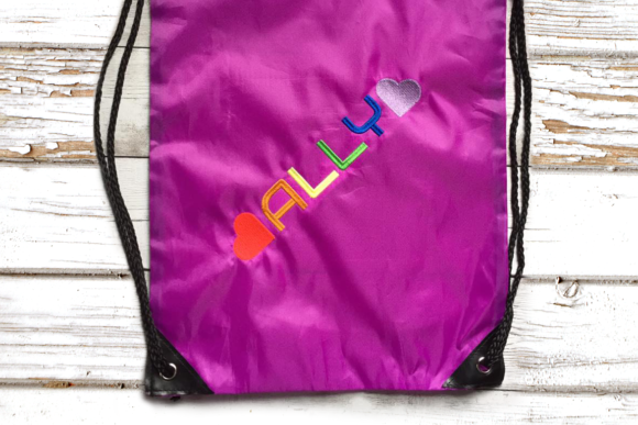 Ally LGBTQIA Awareness Embroidery Design By DesignedByGeeks