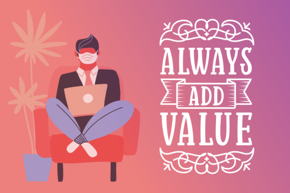 Print on Demand: Always Add Value Serif Fuente Por Situjuh