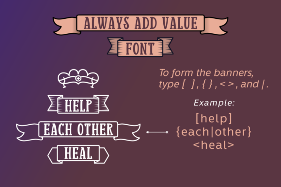Print on Demand: Always Add Value Serif Font By Situjuh - Image 2