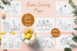 Print on Demand: Baby Bible Coloring Book Graphic Coloring Pages & Books Adults By ElenaZlataArt