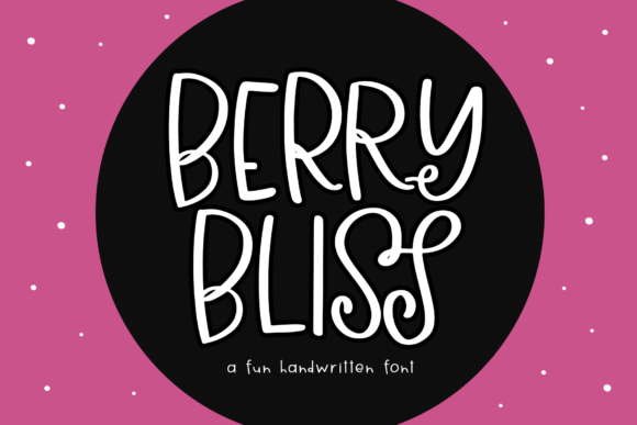Print on Demand: Berry Bliss Display Font By KA Designs