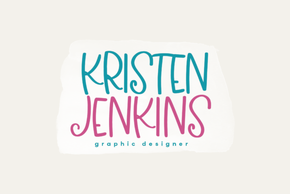 Print on Demand: Berry Bliss Display Font By KA Designs - Image 5