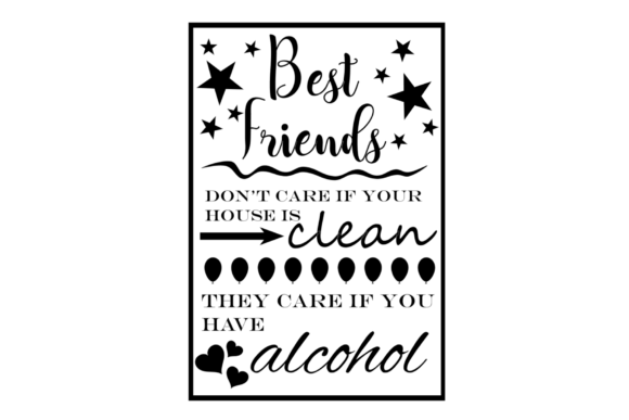 Print on Demand: Best Friends Dont Care Graphic Crafts By Tash Jurmann