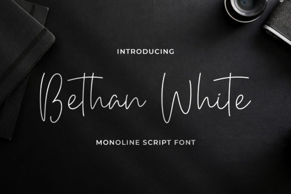 Print on Demand: Bethan White Script & Handwritten Font By StringLabs