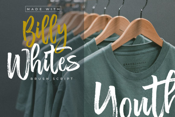 Print on Demand: Billy Whites Script & Handwritten Font By Debut Studio - Image 4