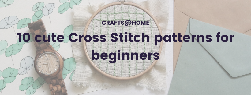 10 cross stitch patterns for beginners