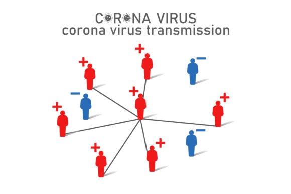 Download Free Corona Virus Transmission Illustration Grafico Por Msholicha9 for Cricut Explore, Silhouette and other cutting machines.