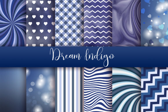Dream Indigo Background Graphic Backgrounds By PinkPearly