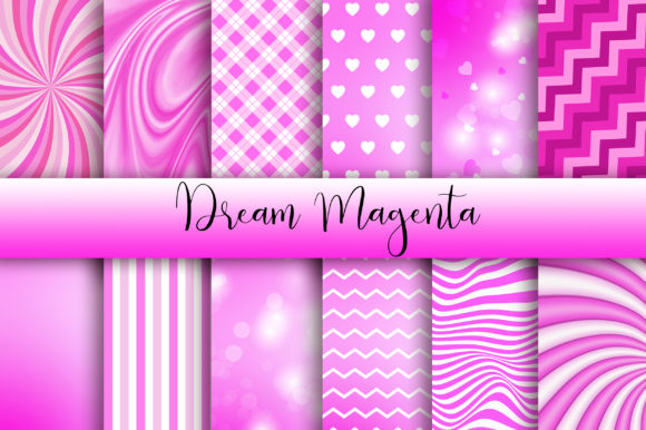 Dream Magenta Background Graphic By Pinkpearly Creative Fabrica