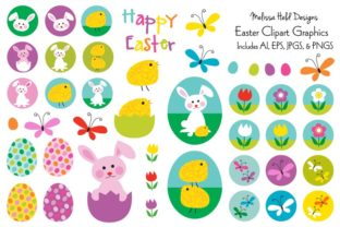 Easter Clipart Graphics Graphic Illustrations By Melissa Held Designs