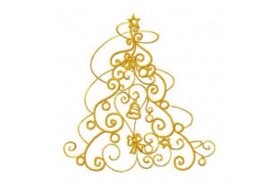 Enchanted Christmas Tree Christmas Embroidery Design By Sookie Sews
