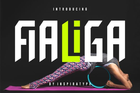 Print on Demand: Fialiga Sans Serif Font By InspiraType