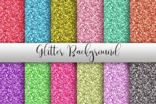 Glitter Background Digital Papers Graphic Backgrounds By PinkPearly