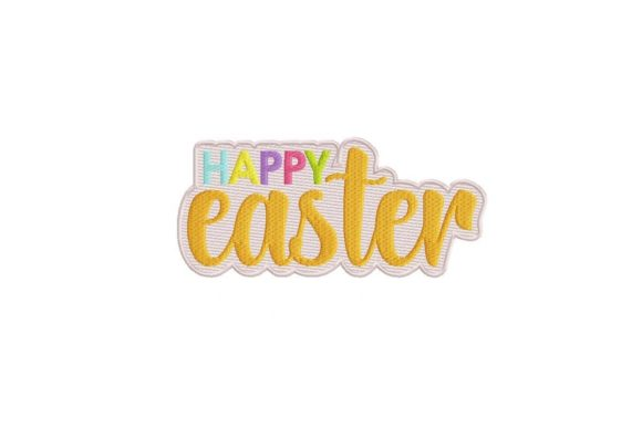 Happy Easter Easter Embroidery Design By Thread Treasures Embroidery