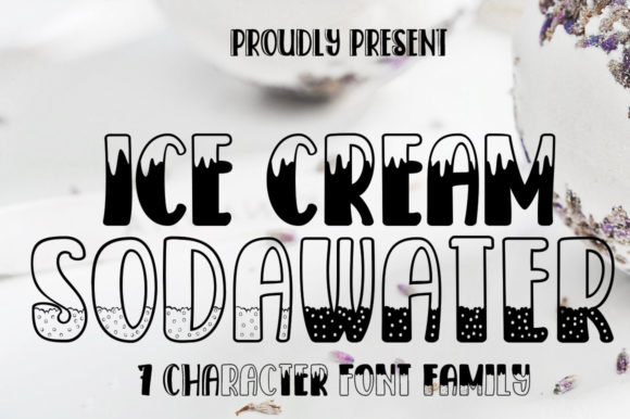 Print on Demand: Ice Cream SodaWater Display Font By edwar.sp111 - Image 2